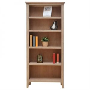 Girona Mountain Ash Timber Bookcase