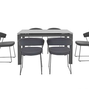 Calligaris - New Baron Extending Dining Table and 6 Chairs
