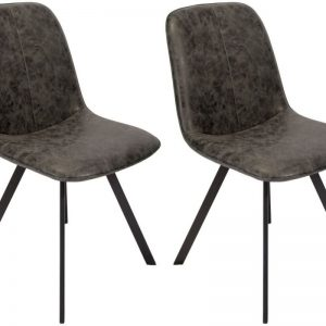 Classic Tetro Fabric Dining Chair (Pair)