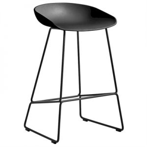 Coco Counter Stool, Black