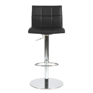 Cyd Bar/Counter Stool in Black design by Euro Style