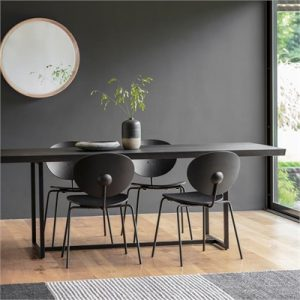Ferham Dining Table, 200cm, Black