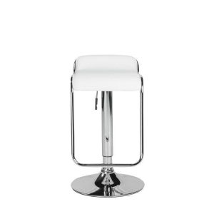 Furgus Bar Counter Stool in White design by Euro Style