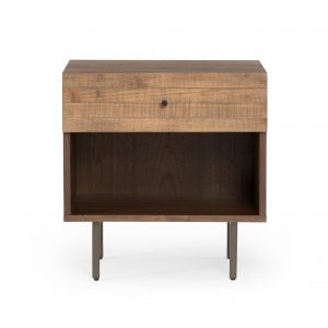 Harlan Nightstand in Saddle Tan