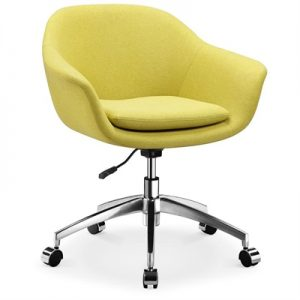 Nori Fabric Office Chair, Lime