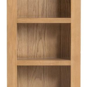 Oakland Oak Narrow Bookcase