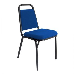Banqueting Stacking Office Visitor Chair In Blue