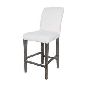 Couture Covers Parsons Bar Stool in Whitewashed Heritage Stain
