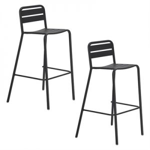 Vespa Outdoor Bar Stool (Set of 2)