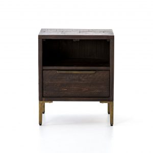 Wyeth Nightstand in Dark Carbon