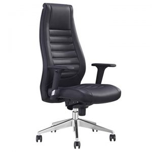 Boston PU Leather Executive Office Chair, High Back