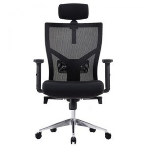 Centro Fabric Executive Office Chair with Headrest