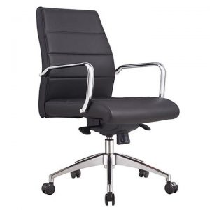 Cruz PU Leather Executive Office Chair, Low Back