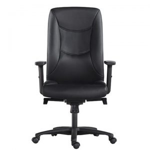 Hilton PU Leather Executive Office Chair, High Back