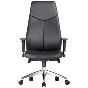 Hume PU Leather Executive Office Chair, High Back