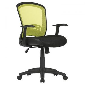 Intro Fabric Task Office Chair, Green / Blak