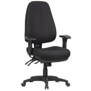Logan Fabric Multi Shift Office Chair, High Back