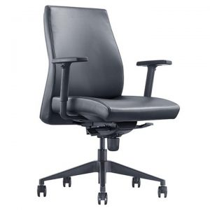 Venus PU Leather Executive Office Chair, Low Back