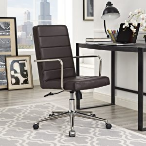 Cavalier Highback Office Chair in Brown