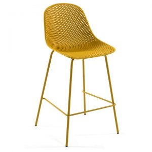 Mercer Indoor / Outdoor Bar Stool, Yellow