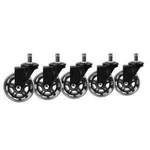 Slipstick Replacement Office Chair Wheel (Set of 5)