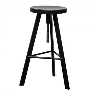 Anker Steel Adjustable Industrial Counter / Bar Stool
