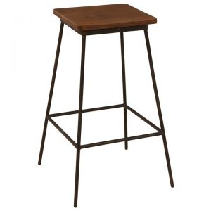 Brian Commercial Grade Metal Counter Stool