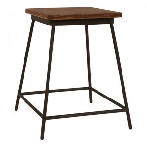 Brian Commercial Grade Metal Table Stool