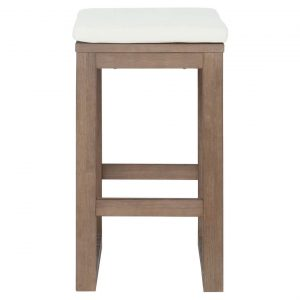 Cannes Bar Stool Size W 40cm x D 40cm x H 73cm in Natural Freedom