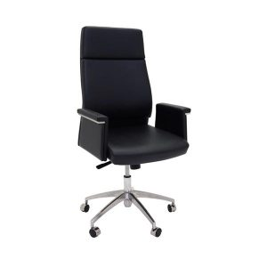 High Back Office Vinyl Chair