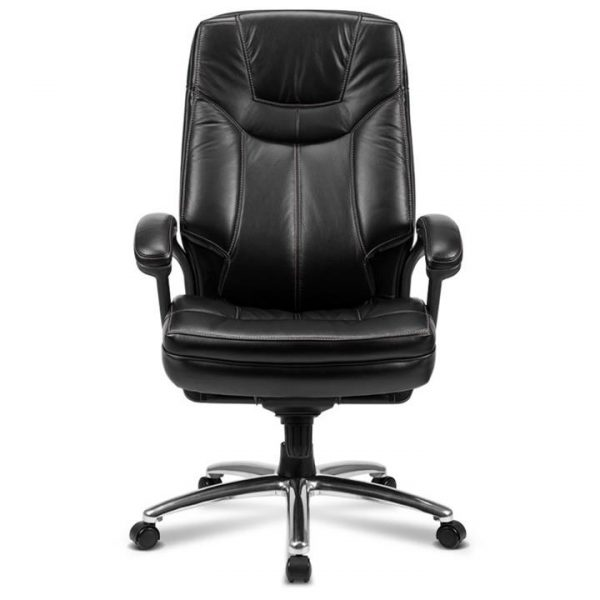 Moines Genuine Leather High Back Office Chair