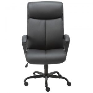 Puresoft PU Leather Office Chair, High Back