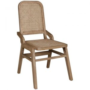 Sevilla Recycled Timber & Rattan Dining Chair