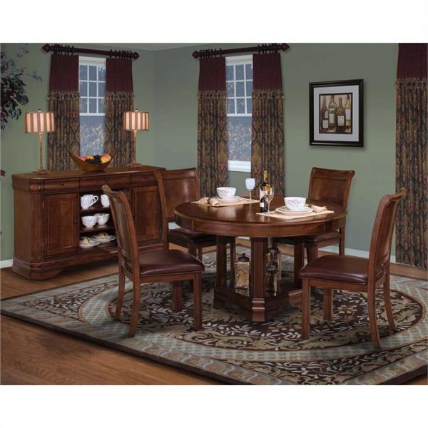 Sherwood Solid American Poplar Timber 178cm Oval Dining Table (Table Only)