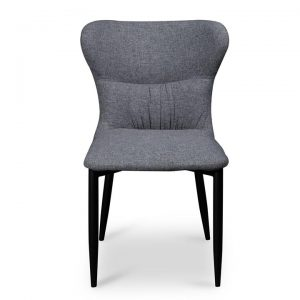 Barnaby Fabric Dining Chair, Pebble Grey
