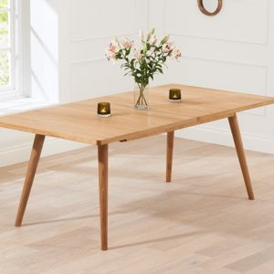 Mark Harris Tribeca Oak 150cm Extending Dining Table