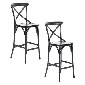 Ruelle Outdoor Bar Stool (Set of 2)