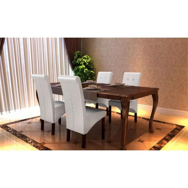 4 x dining chairs white | Afterpay | zip | Laybuy