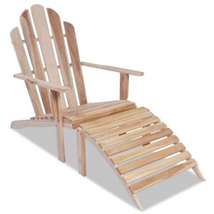 Adirondack Chair Solid Teak Wood | Afterpay | zip | Laybuy