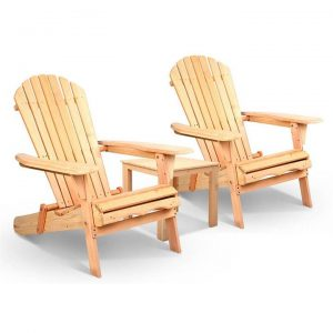 Adirondack style Table & Chair Set | Afterpay | zipPay | Oxipay