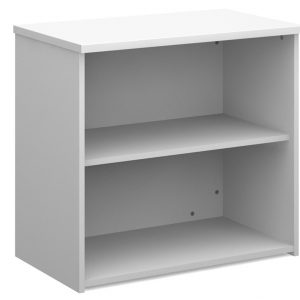 All White Bookcase