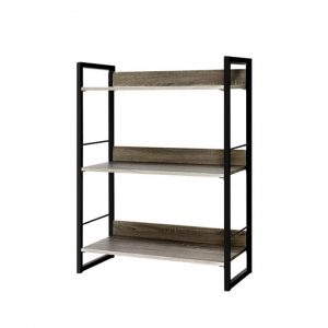 Bookshelf Display Shelves Wooden Book Shelf Wall Corner Bookcase Storage