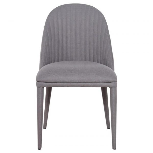 Dante Fabric Dining Chair, Charcoal