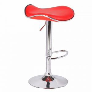 Dora Bar Stool in Red