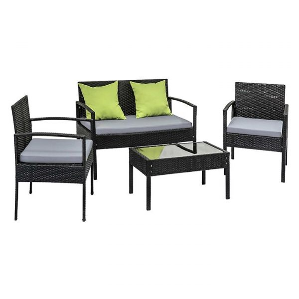 Gildan 4-Piece Outdoor Lounge Set