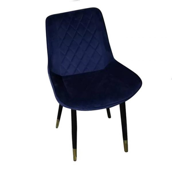 Gotti Dining Chair Navy Velvet Set of 2