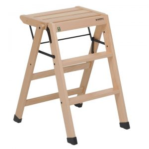 Losgabello Wooden Step Stool
