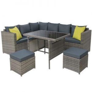 Outdoor Furniture Patio Set Dining Sofa Table Chair Lounge Garden
