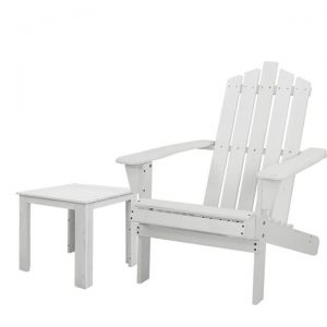 Outdoor Sun Lounge Beach Chairs Table Setting Wooden Adirondack Patio Chair Lounges