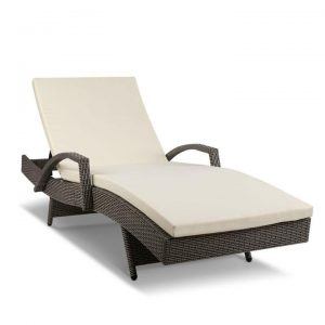 Outdoor Sun Lounge - Grey